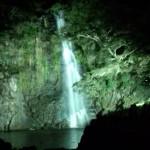 箕面の大滝/夜間ライトアップに行ってきました。