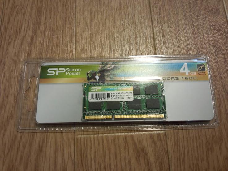DDR3-1600 PC3-12800 4GB