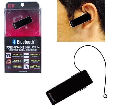 カシムラ Bluetooth イヤホンマイク マルチポイント BL-19