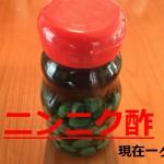 ニンニク酢レシピ にんにく酢 作り方